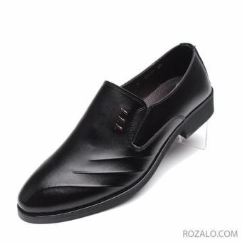 Giày tây nam cao cấp ZANI ZMG68867BL - Màu đen