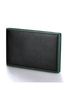 Cyber Men Mini Money Wallet Green - intl