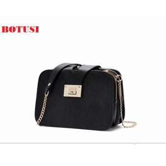 Túi xách thời trang 3 ngăn cao cấp BOTUSI-3N(ĐEN)