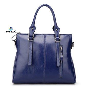 Túi nữ đeo chéo da thật HQ 8TU52 2(xanh)