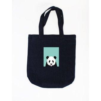 Túi tote in hình Shy Panda - Pet Lover