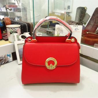Túi nữ da cao cấp DaH2 TN1517 (màu đỏ)
