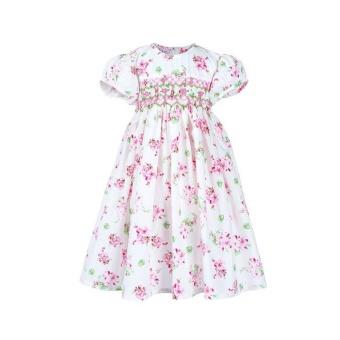 Rosie - Đầm Bé Gái Thêu Xích Móc