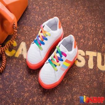 Giày thể thao bé gái RS023 (Cam)