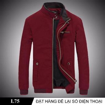 Áo Khoác Nam Thời Thượng L75 (Đỏ đô)