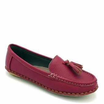 Giày moccasin Carlo Rino 333030-107-04 (màu đỏ)