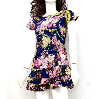 Đầm chân xòe MiDu Fashion (Hoa)