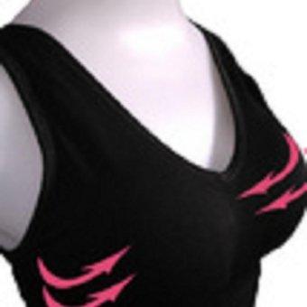 Áo ngực định hình không gọng D-BRA size: S (ĐEN) tặng kèm 1 quần lót free size