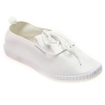 Giày Lười Nữ Hnp Gn017 (Trắng)