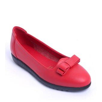 Giày búp bê FA954 - Đỏ
