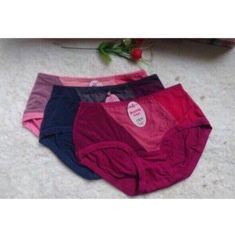 bộ 5 quần lót nữ cotton cạp cao Chipi-CP5251CC (nhiều màu)