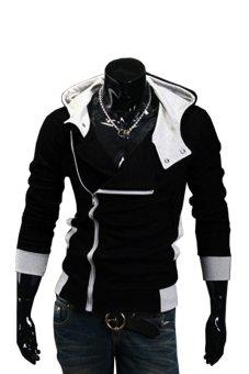 Áo khoác nam dây kéo xéo AKN011D