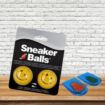 Combo Bóng Khử Mùi Giày SneakerBalls -Lót gót Spenco-Int: One size