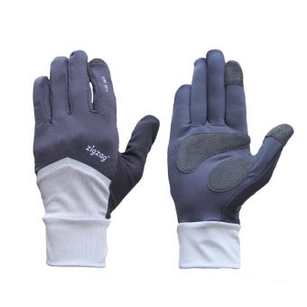 zigzag GLV01001- Găng tay Nonstop chống nắng UPF50+ ( xám đen)