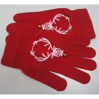 Găng tay chuông vàng Giáng Sinh