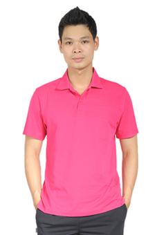 Áo phông thể thao nam BUTNON PL-M5103 (Hồng)
