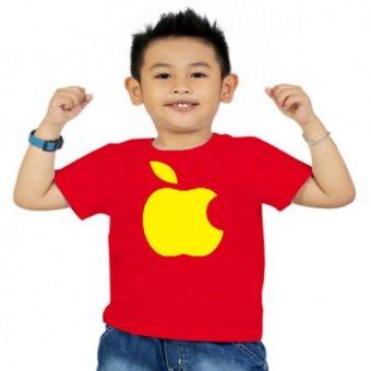 Áo thun bé trai Kỳ Khang BT13 (Đỏ)