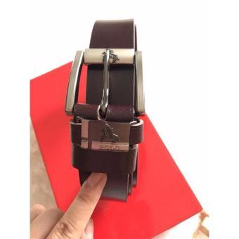 Thắt lưng nam dây đúc cao cấp LyLyFashion (nâu)