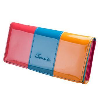 Wallet Small Fresh Wallet Mobile Phone Bag Blue (Intl)