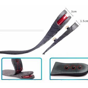 Lót giày tăng chiều cao không khí nguyên bàn 2 lớp 4.5cm (A027)