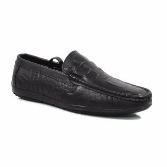 Giày lười vân da cá sấu ms133