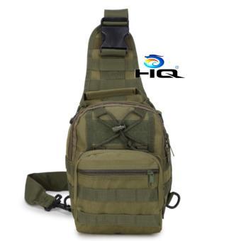 Túi đeo ngực thời trang du lịch phong cách quân đội Mỹ HQ 81TU28 2(oliu)