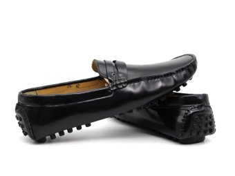 Giày Lười Nam Cao Cấp Antoni Fernando - AF-001 - Đen