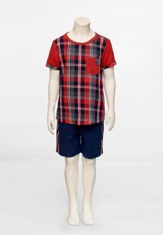 Áo Thun Caro Đỏ Genii Kids (Đỏ)