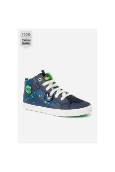 Giày sneakers Geox J Kiwi B. I (Navy/Green)