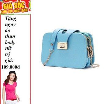 Túi xách 3 ngăn cao cấp thời trang + Tặng 1 áo thun body nữ