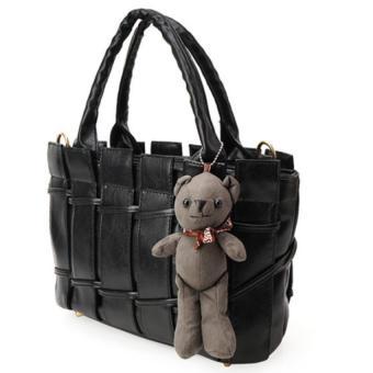 Túi xách cao cấp rào kèm gấu