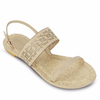Giày Sandal Xẹp Thời Trang Laser-Cut