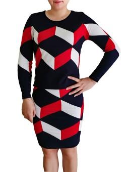 Bộ váy áo len rời TQ1801-3