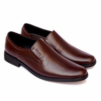 Giày Tây Da Thật GL67 (Nâu)