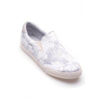 Mua Giày lười nam Aqua Sportswear M1221 (Trắng họa tiết) giá tốt nhất