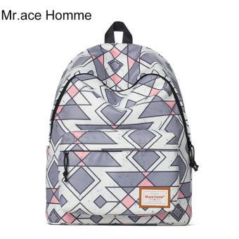 Balo Thời Trang Mr.ace Homme MR16B0258B01 / Tím phối trắng