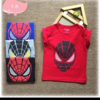 Áo thun bé trai spiderman: