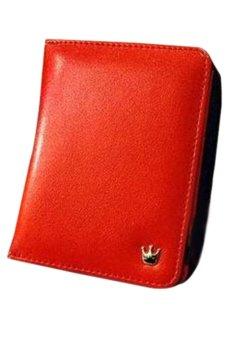 Bluelans Women Card Coin Holder PU Leather Handbag Clutch Purse Red (Intl)