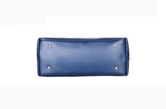 Women Handbag Shoulder Bags Tote Purse Leather Ladies Messenger Hobo Bag Blue