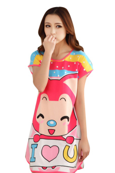Đầm ngủ Huy Kiệt TT63 (Hồng)