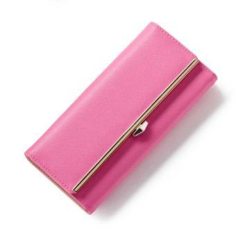 Bóp ví nữ thời trang Weichan A511-11 - Hồng Đỏ