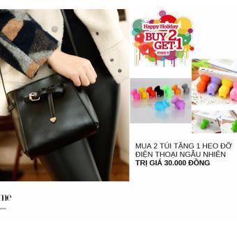 Túi xách đeo chéo thời trang VA01(Đen)+KÈM QUÀ KHI MUA 2 SẢN PHẨM