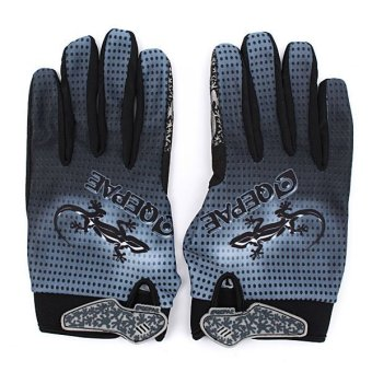 Outdoor Cycling Sports Full Finger Gloves(L) New - intl