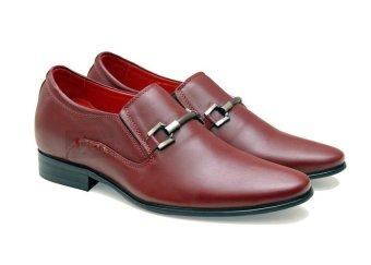 Giày tăng chiều cao nam Manaroda HN 167 cao 6cm (Đỏ đô)