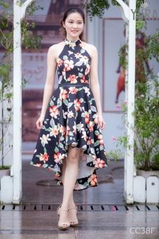 Đầm yếm xòe Mullet CC38F