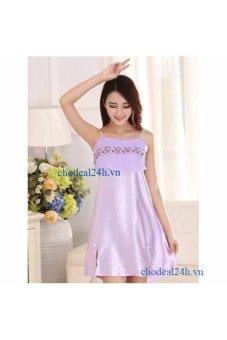 Đầm Ngủ Phi Bóng Ren Ngực CDANP01