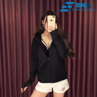 Áo khoác chống nắng tia UV Korea Store UVF1 màu Đen (Cam kết dày dặn, vải mát) US04572