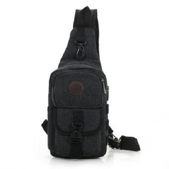 Túi đeo chéo, balo nam chuyên phượt DC02 (Đen)
