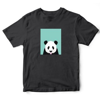 Áo thun nam Shy Panda Pet Lovers Suvi SuviLazTM0061 (Đen)