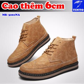 Giày Tăng Chiều Cao 6cm Orashoe Tinto 5201na (Xám)